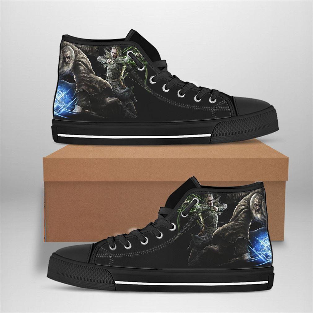 Legolas Best Movie Character High Top Vans Shoes