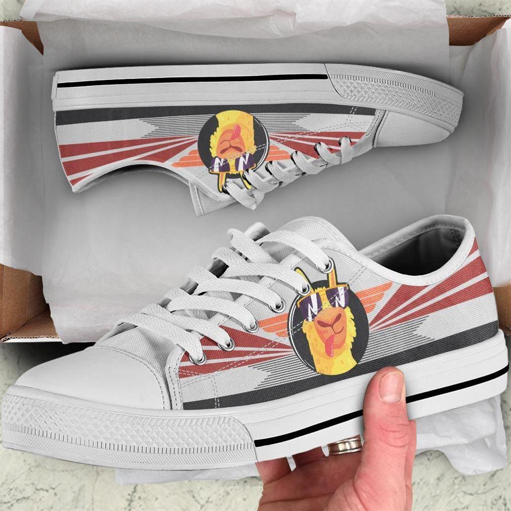 Llama Low Top Vans Shoes