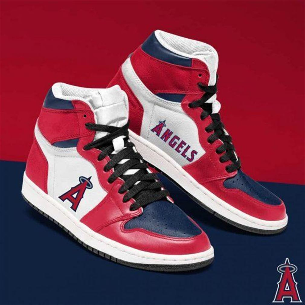 Los Angeles Angels Mlb Baseball Air Jordan Sneaker Boots Shoes