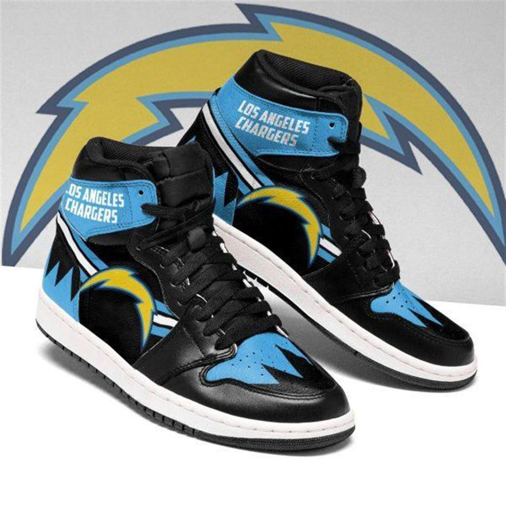 Los Angeles Chargers Nfl Football Air Jordan Sneaker Boots Shoes