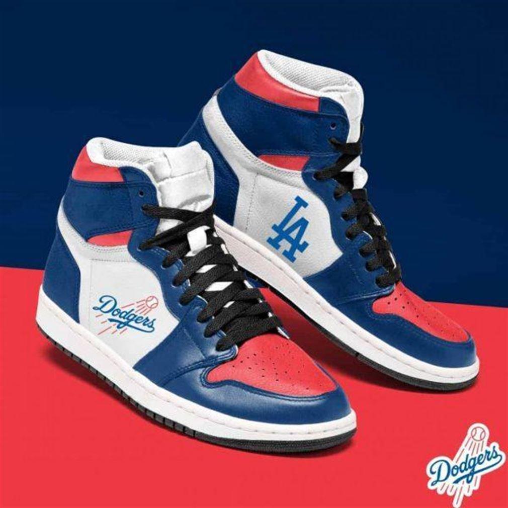 Los Angeles Dodgers Mlb Baseball Air Jordan Sneaker Boots Shoes
