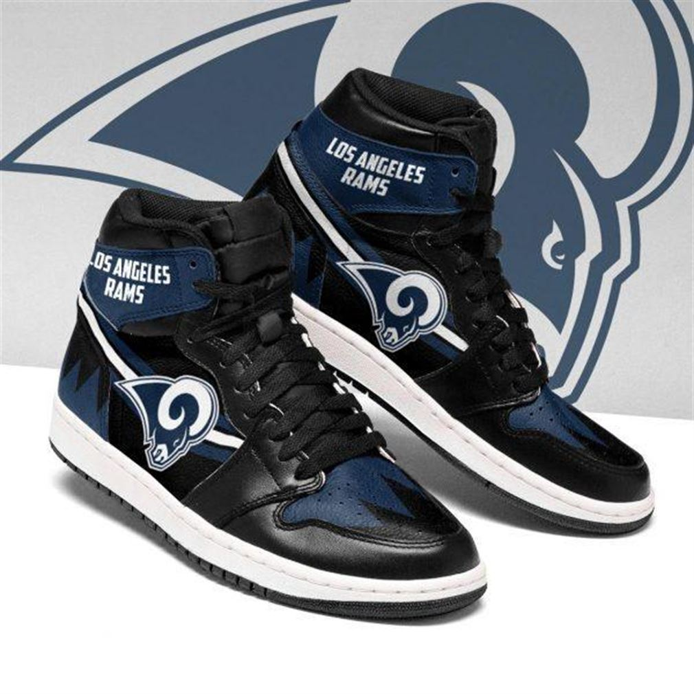 Los Angeles Rams Nfl Football Air Jordan Sneaker Boots Shoes