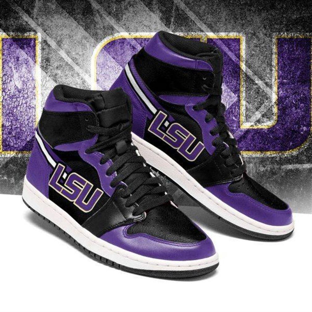Lsu Tigers Ncaa Air Jordan Sneaker Boots Shoes