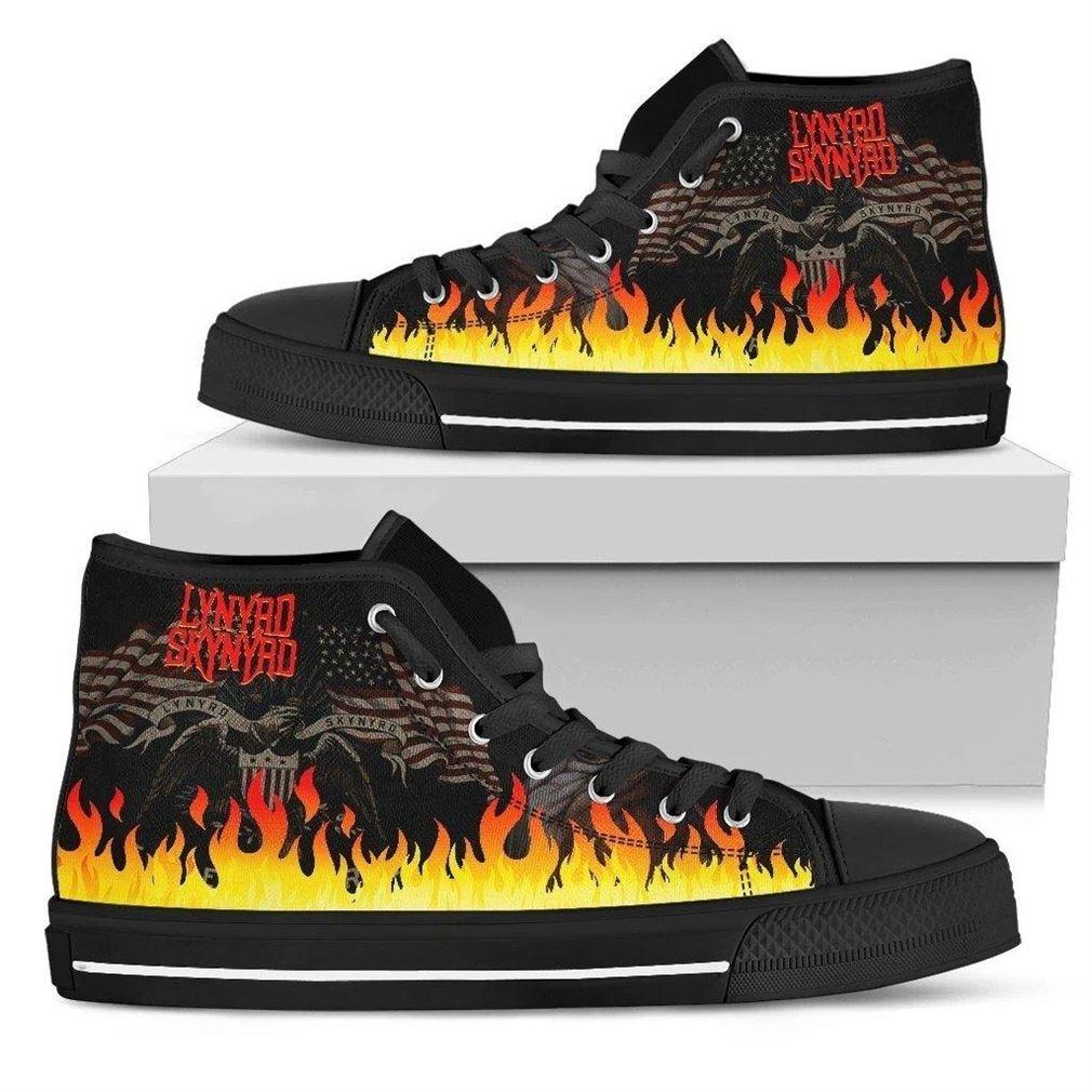 Lynyrd Skynyrd High Top Vans Shoes