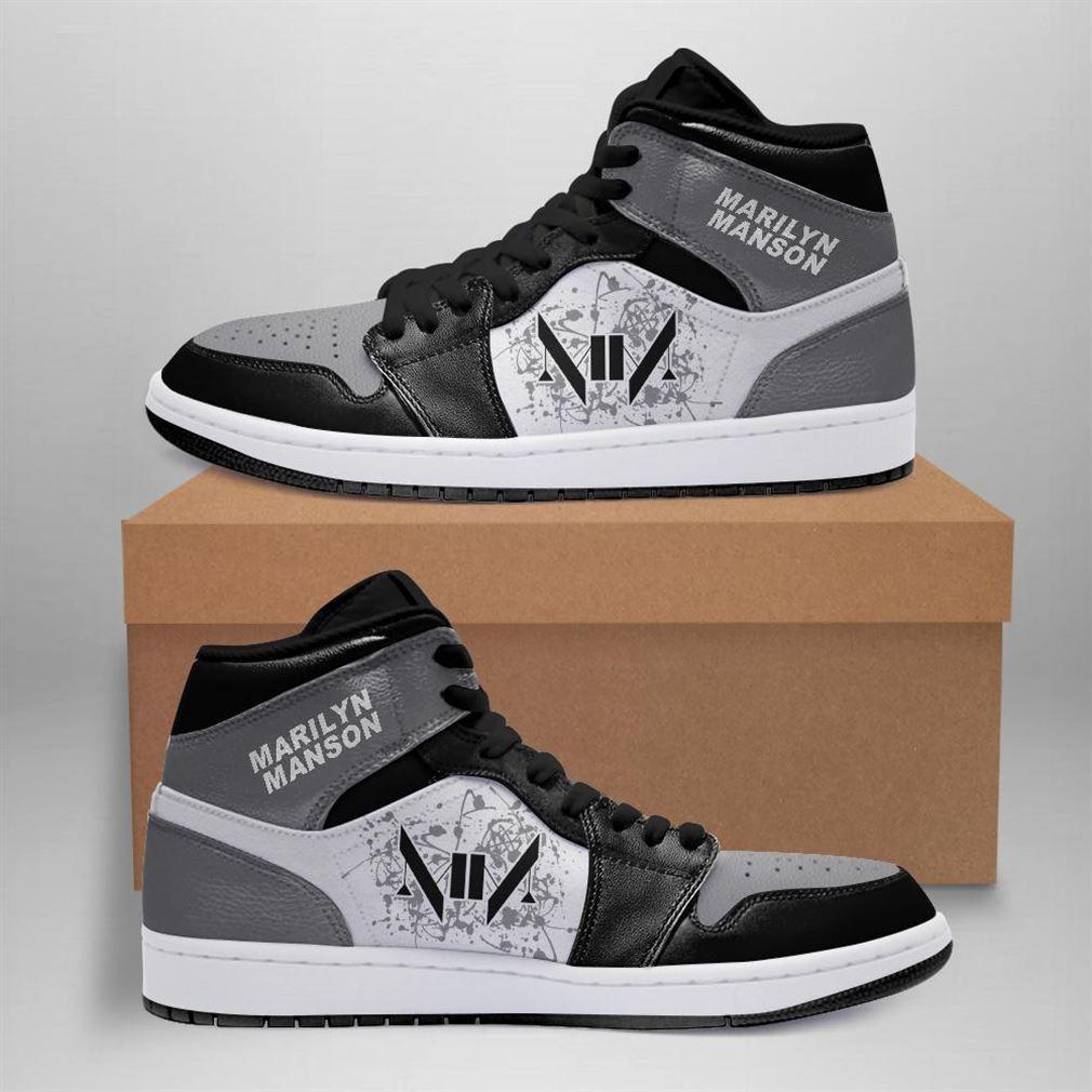 Marilyn Manson Rock Band Air Jordan Sneaker Boots Shoes