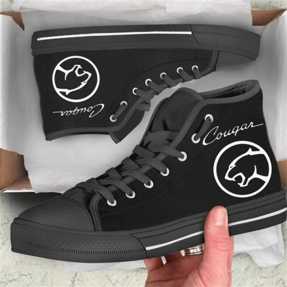 Mercury Cougar High Top Vans Shoes