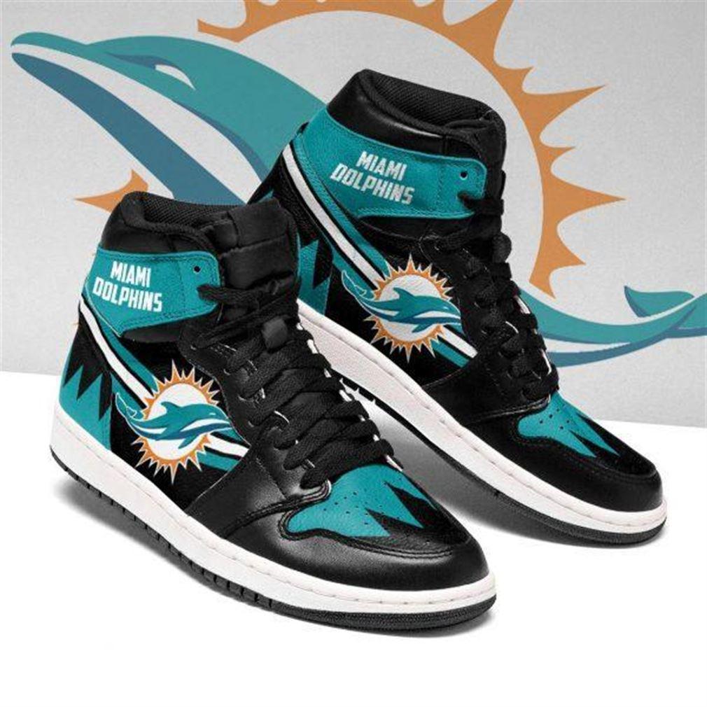 Miami Dolphins Nfl Football Air Jordan Sneaker Boots Shoes