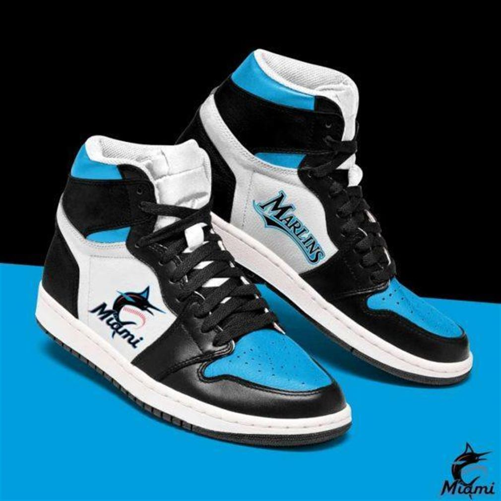 Miami Marlins Mlb Baseball Air Jordan Sneaker Boots Shoes