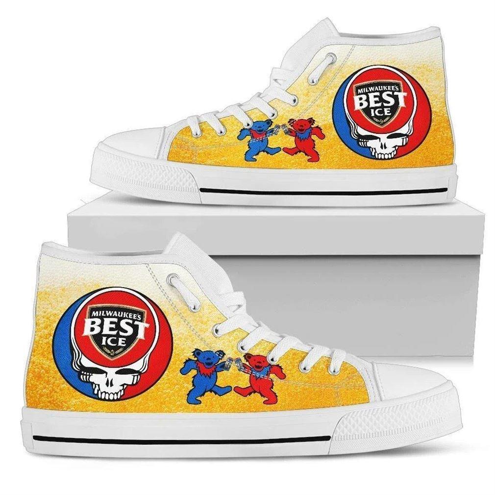 Mils Best Ice High Top Vans Shoes