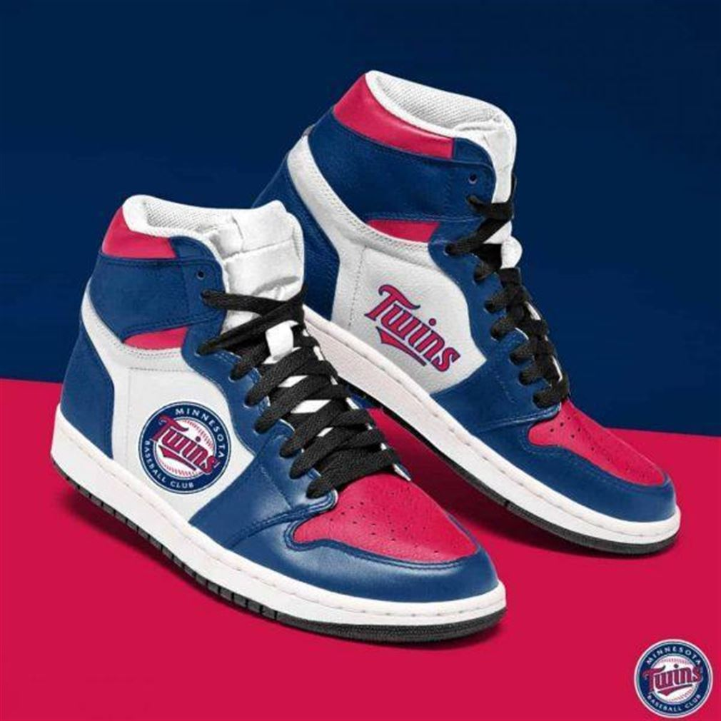 Minnesota Twins Mlb Baseball Air Jordan Sneaker Boots Shoes