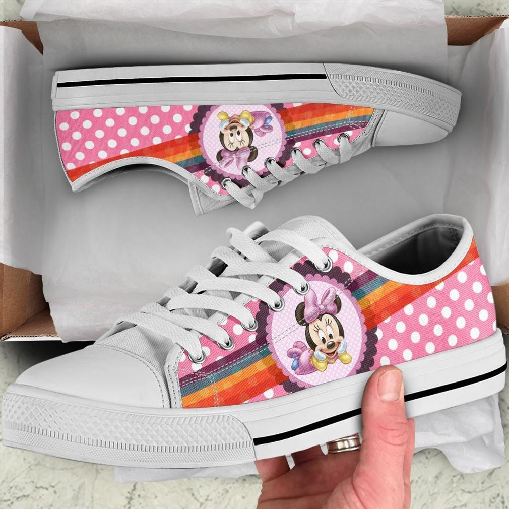 Minnie Character Low Top Vans Shoes