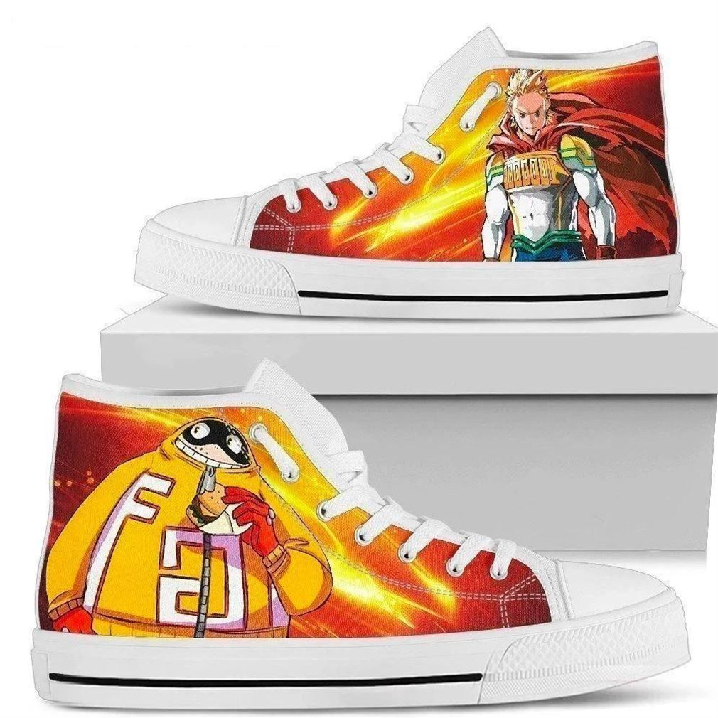 Mirio Fatgum My Hero Academia Character High Top Vans Shoes