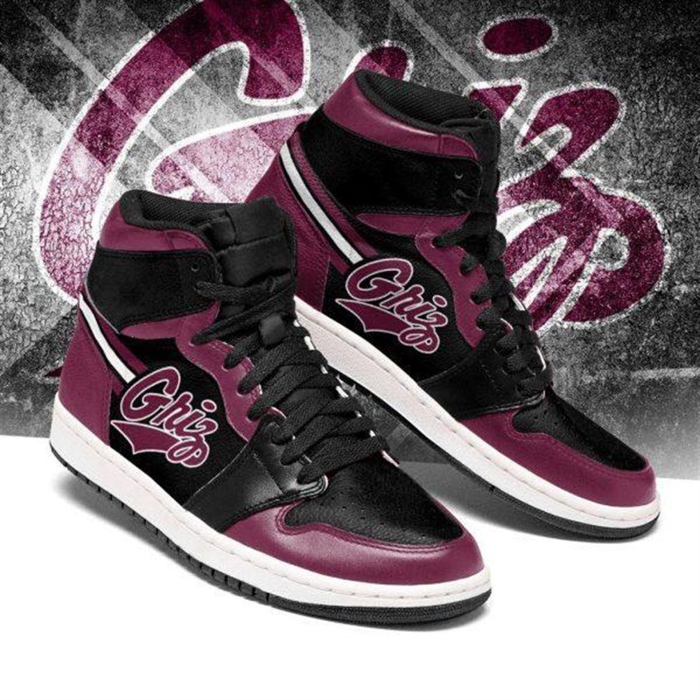 Montana Grizzlies Ncaa Air Jordan Sneaker Boots Shoes