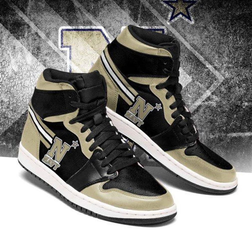 Navy Midshipmen Ncaa Air Jordan Sneaker Boots Shoes