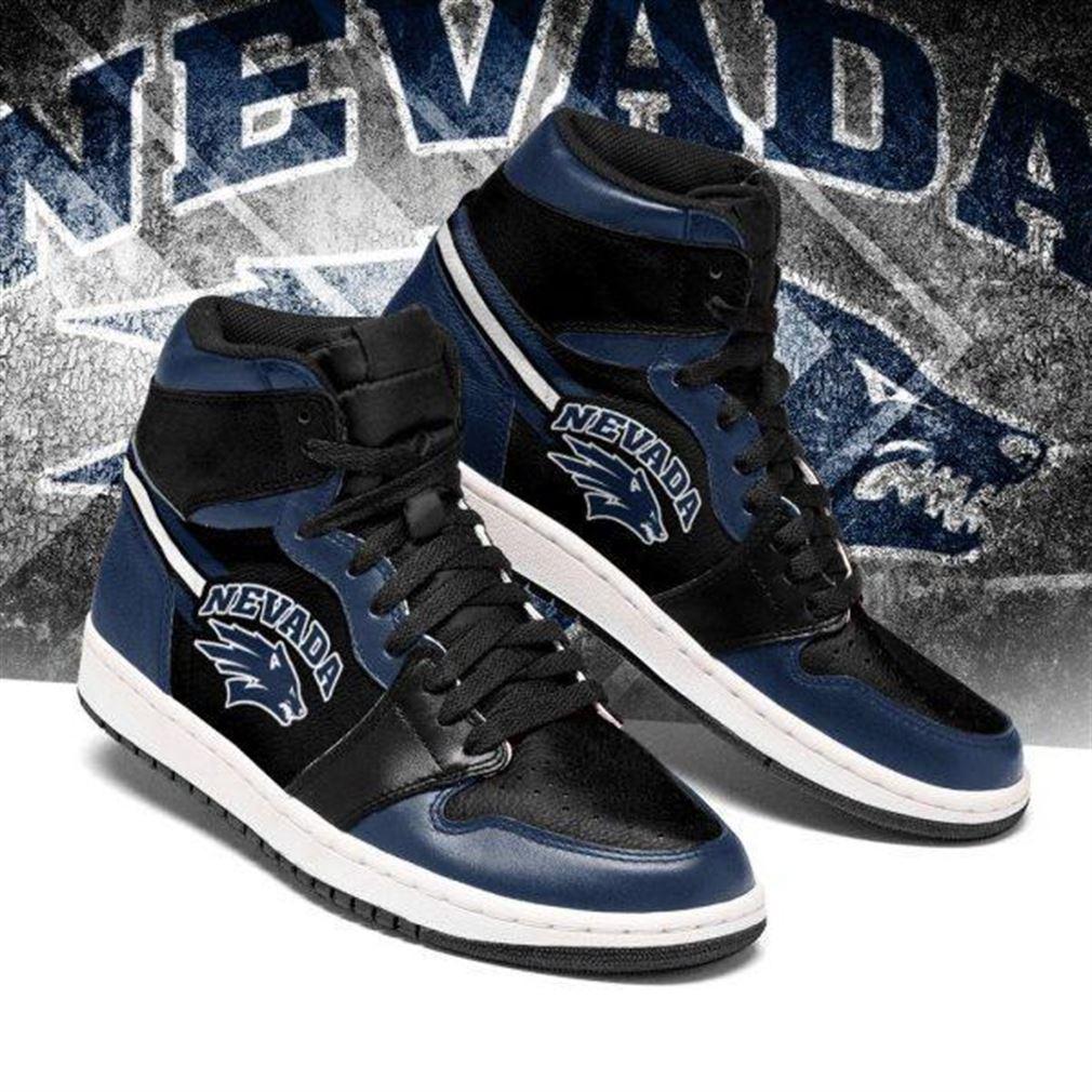 Nevada Wolf Pack Ncaa Air Jordan Sneaker Boots Shoes
