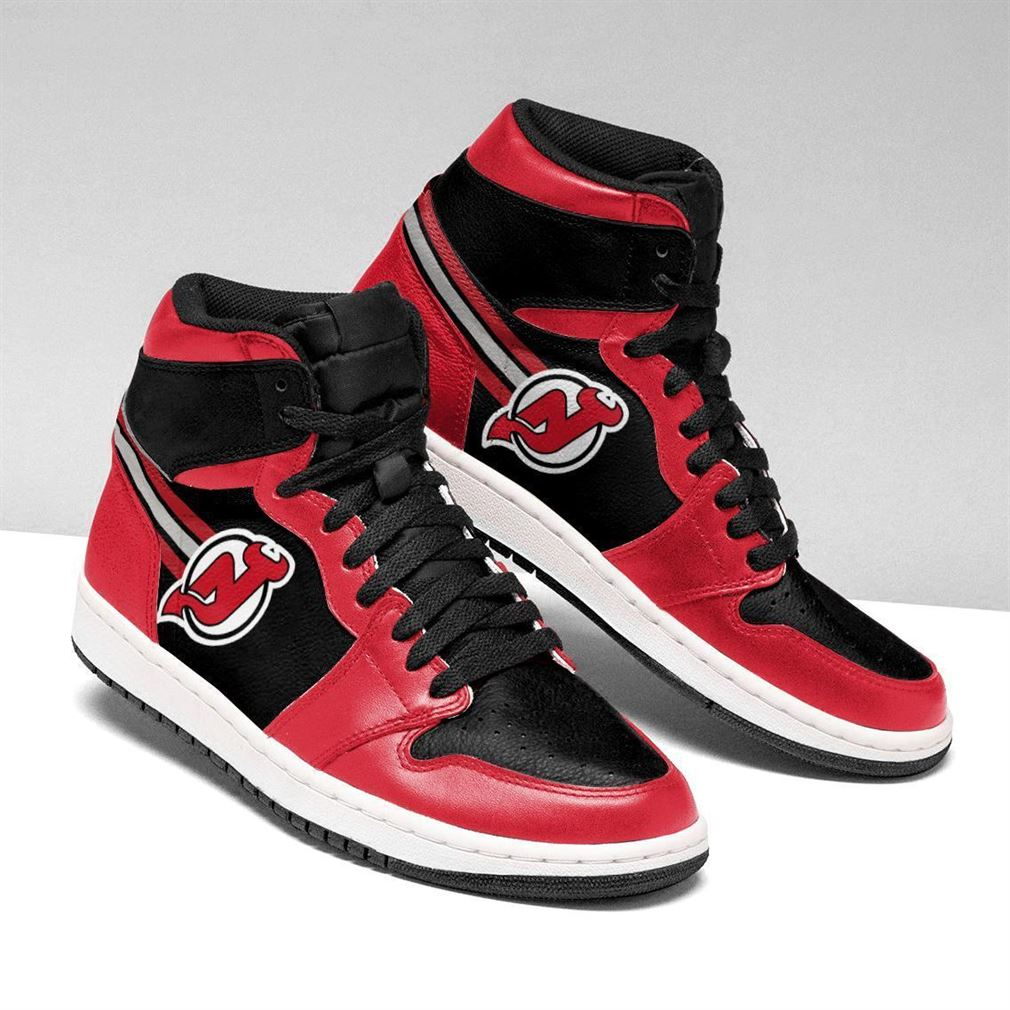 New Jersey Devils Nhl Air Jordan Sneaker Boots Shoes