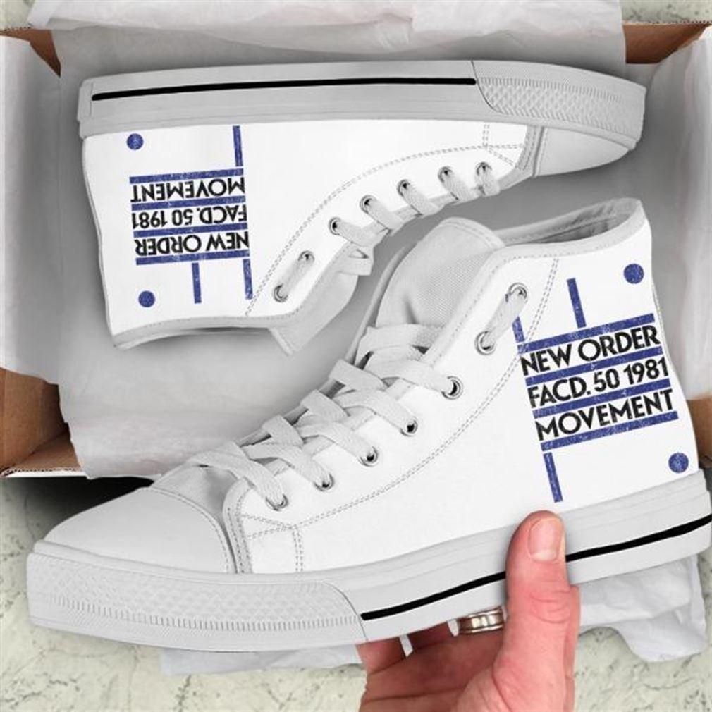 New Order High Top Vans Shoes