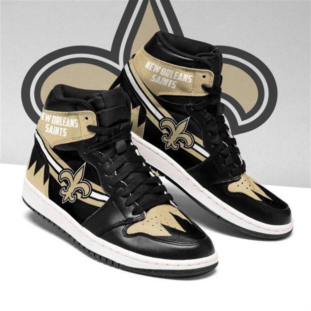 New Orleans Saints Nfl Football Air Jordan Sneaker Boots Shoes