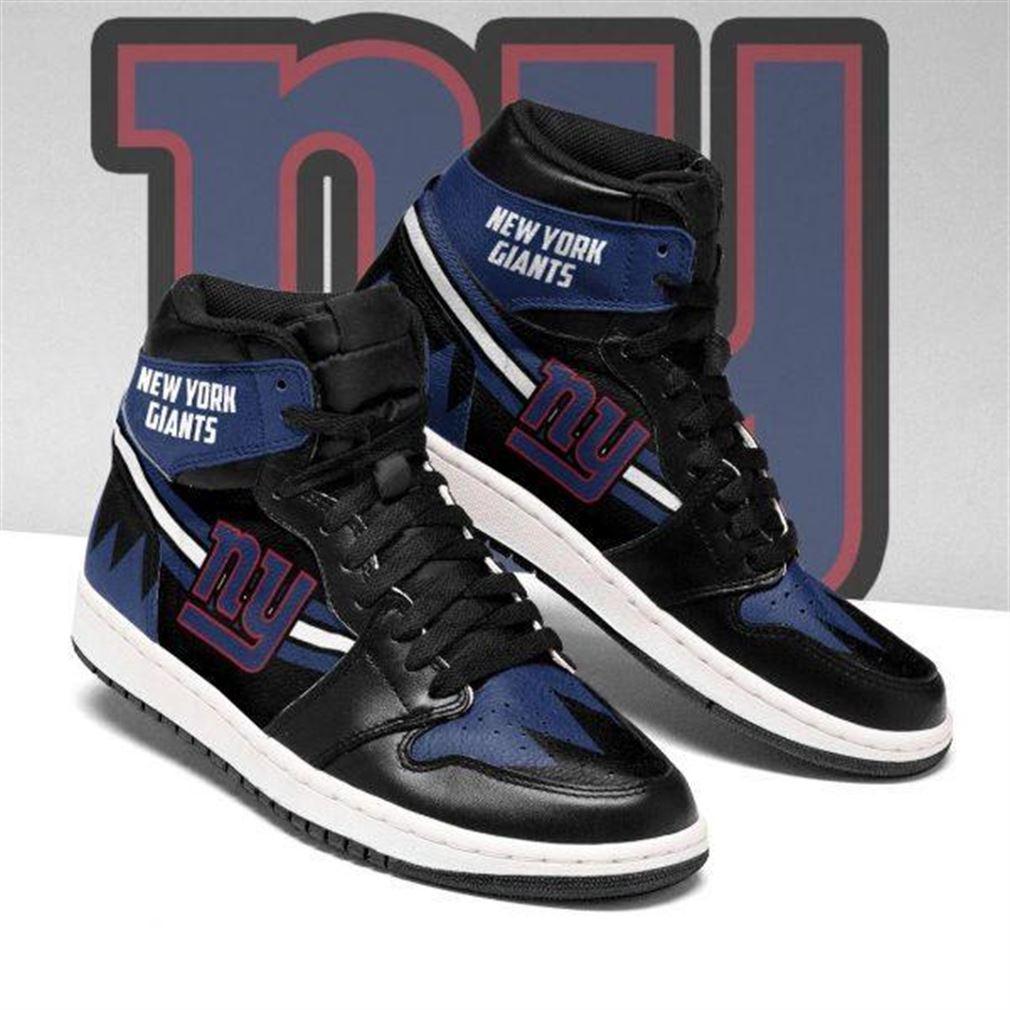 New York Giants Nfl Football Air Jordan Sneaker Boots Shoes