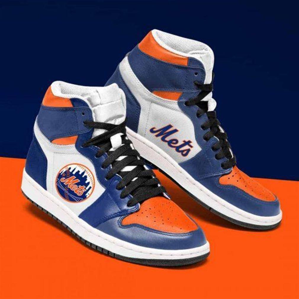New York Mets Mlb Baseball Air Jordan Sneaker Boots Shoes