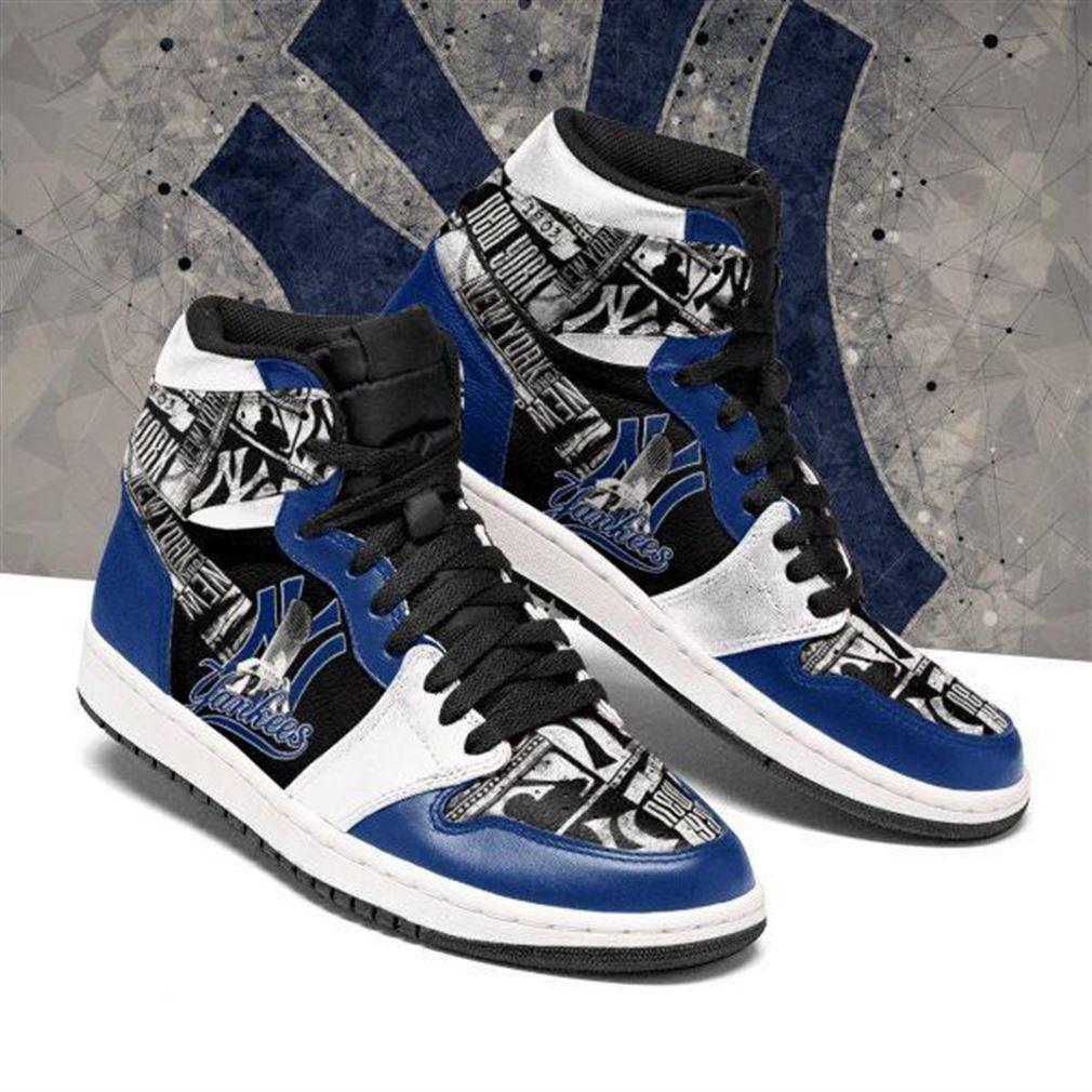 New York Yankees Mlb Baseball Air Jordan Sneaker Boots Shoes