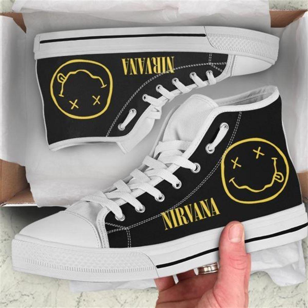 Nirvana High Top Vans Shoes 2sqbh