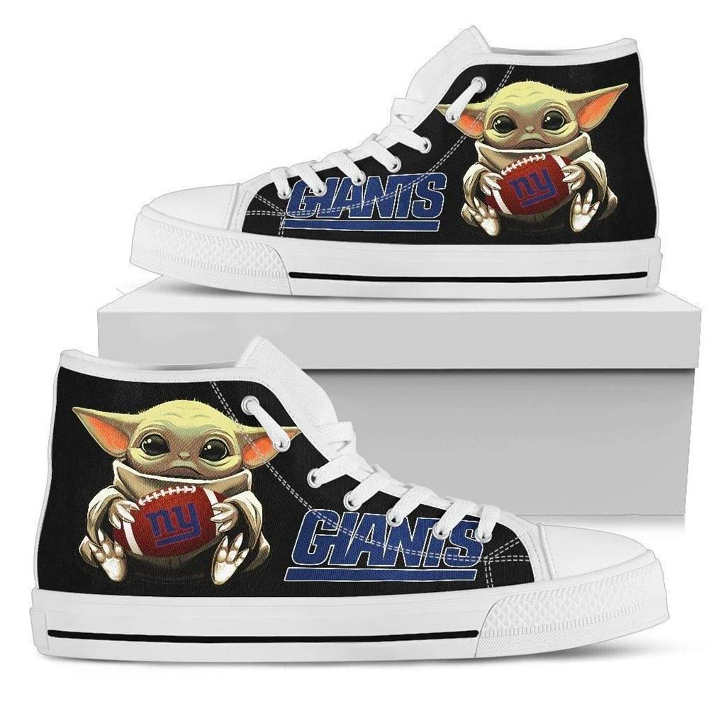 Ny Giants High Top Vans Shoes