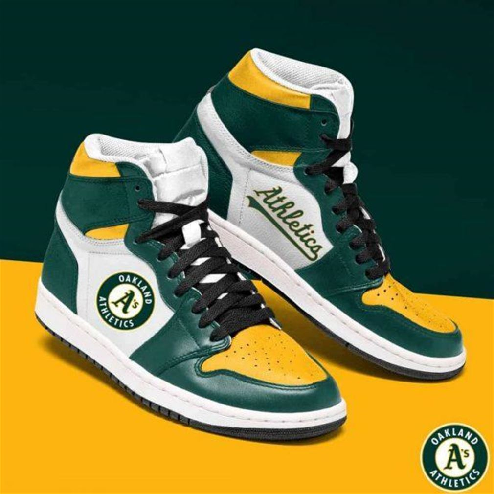 Oakland Athletics Mlb Baseball Air Jordan Sneaker Boots Shoes