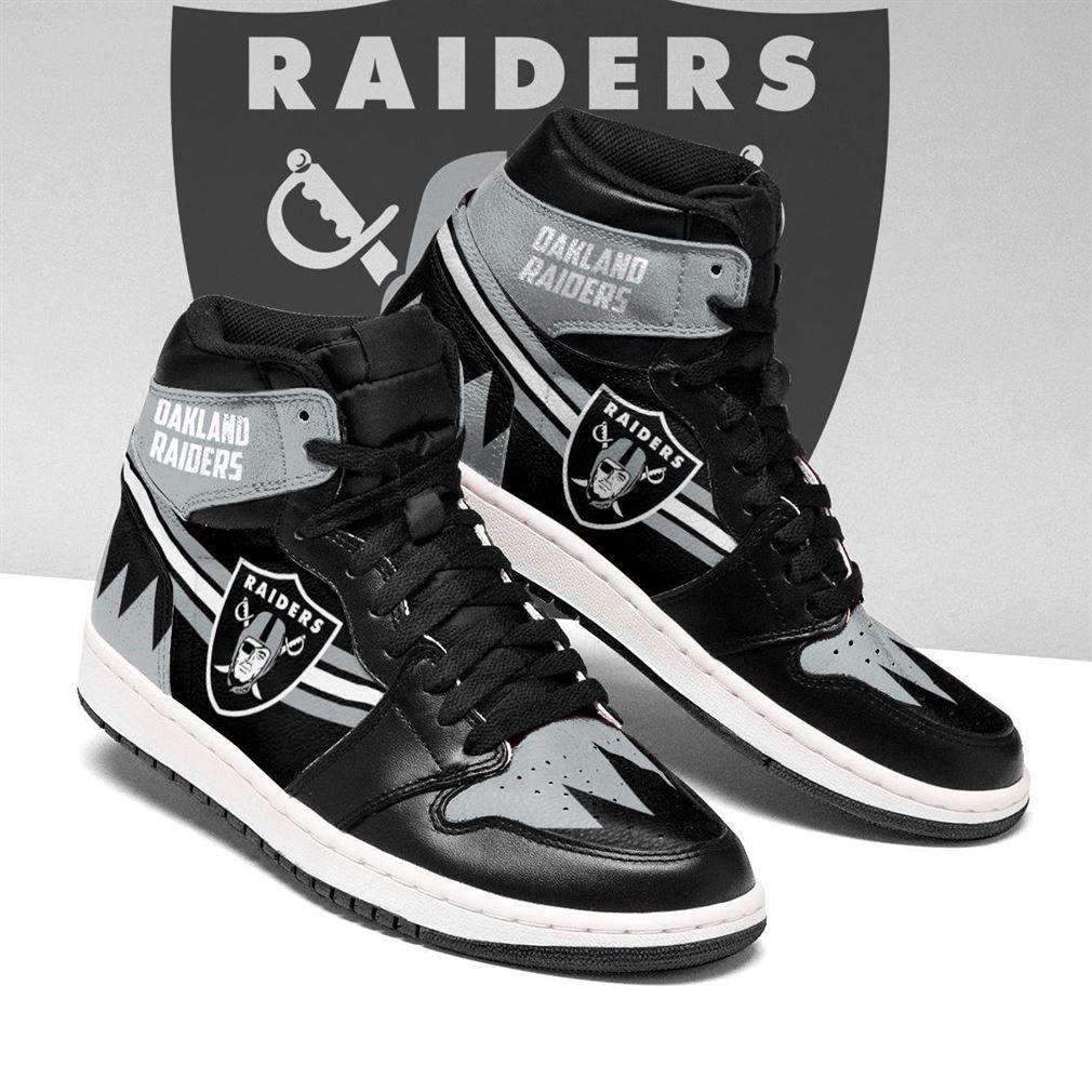 Oakland Raiders Nfl Air Jordan Sneaker Boots Shoes