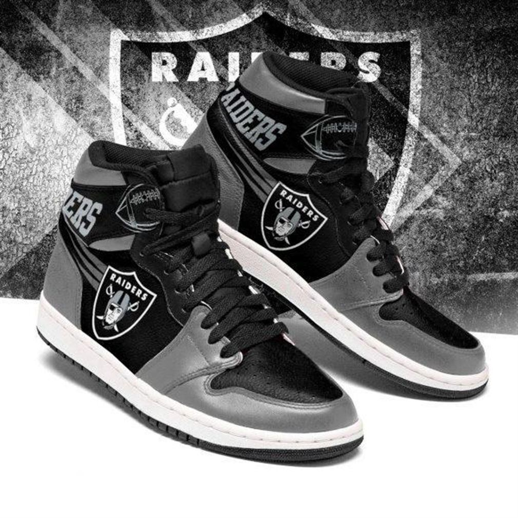 Oakland Raiders Nfl Football Air Jordan Sneaker Boots Shoes