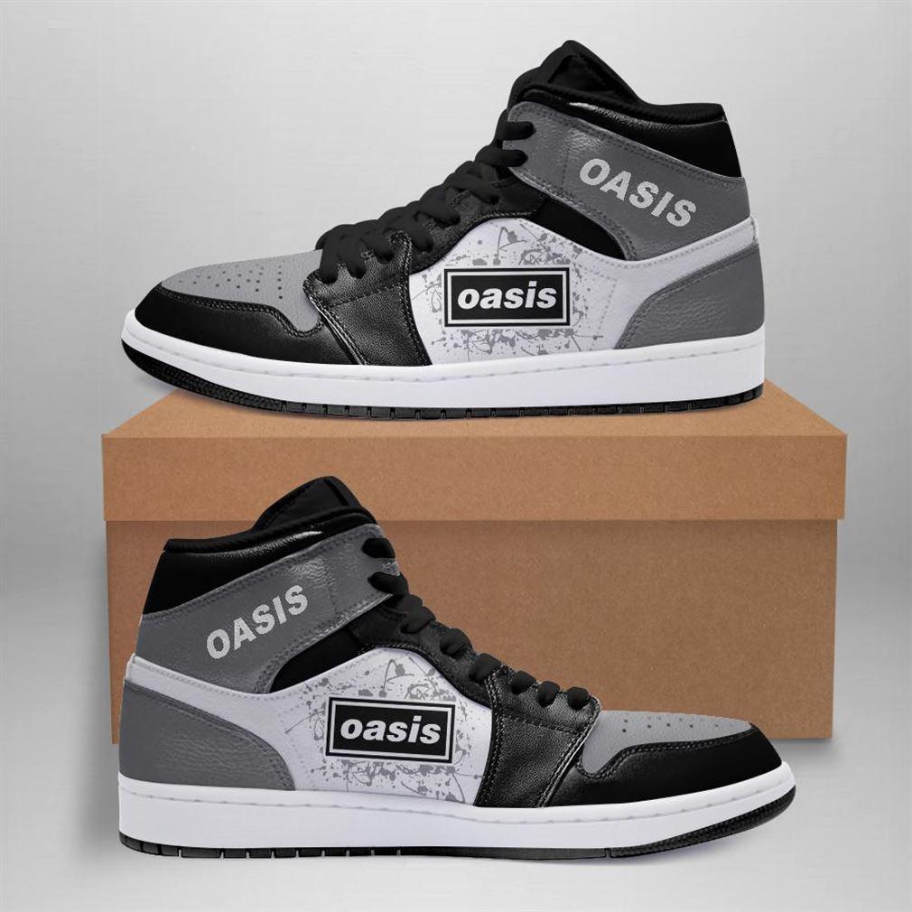 Oasis Rock Band Air Jordan Sneaker Boots Shoes