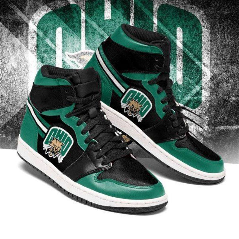 Ohio Bobcats Ncaa Air Jordan Sneaker Boots Shoes