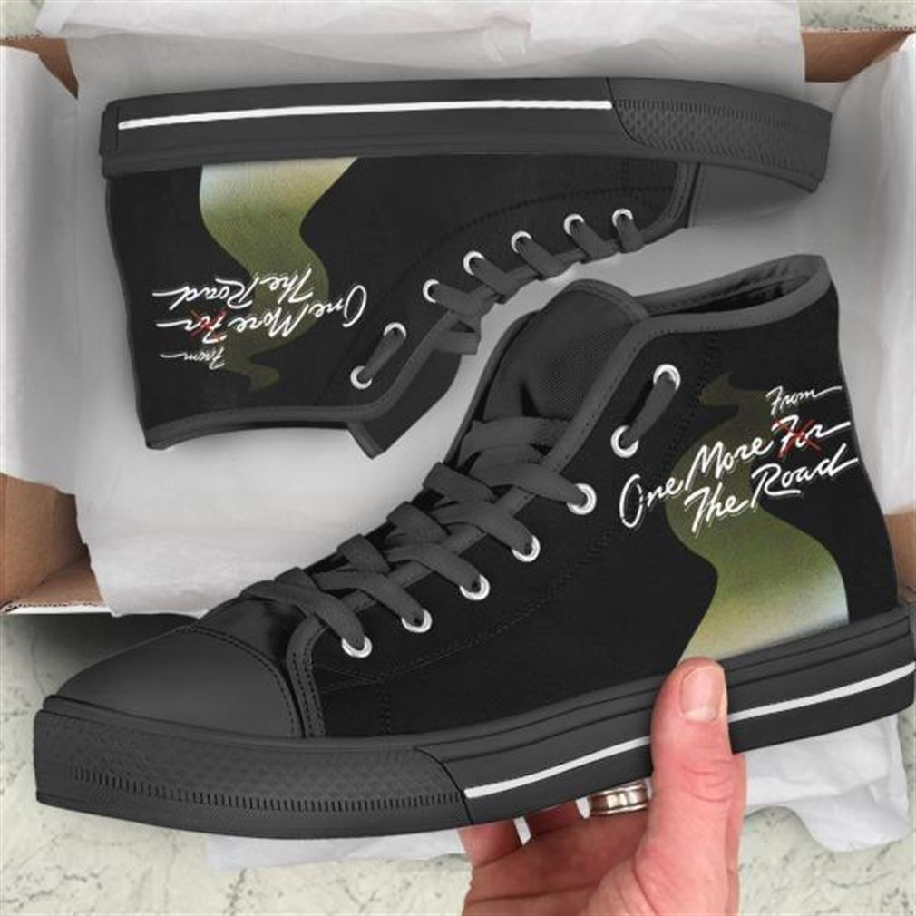 One More From The Road High Top Vans Shoes