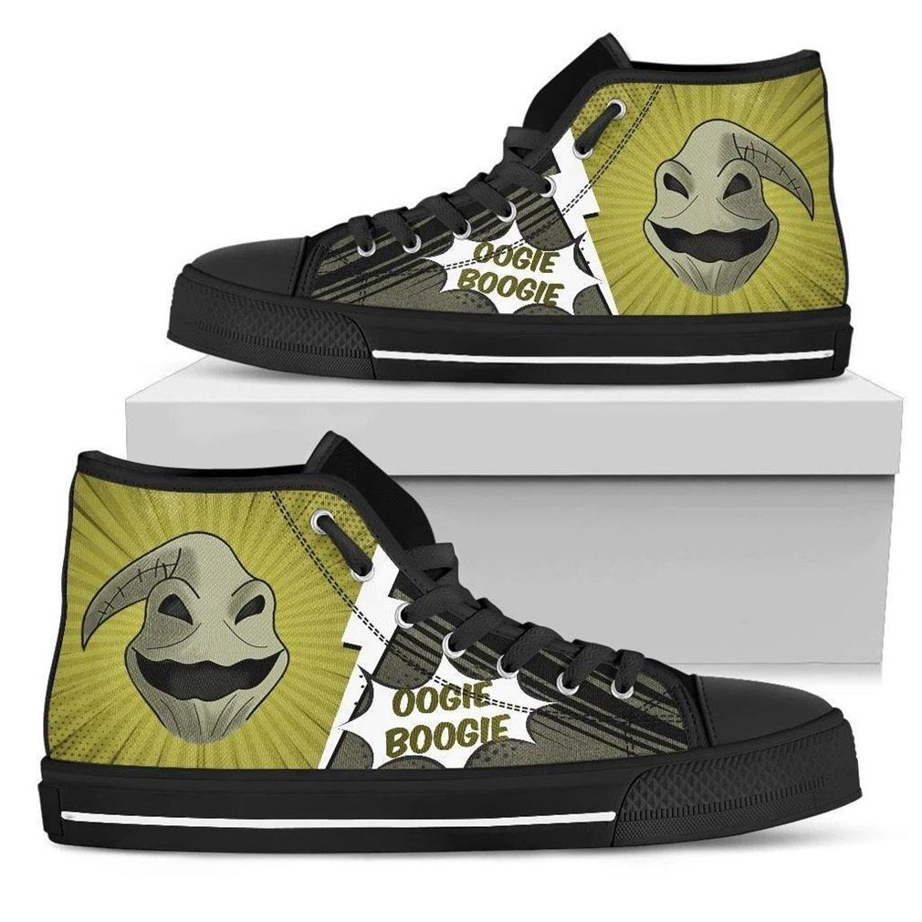 Oogie Boogie High Top Vans Shoes