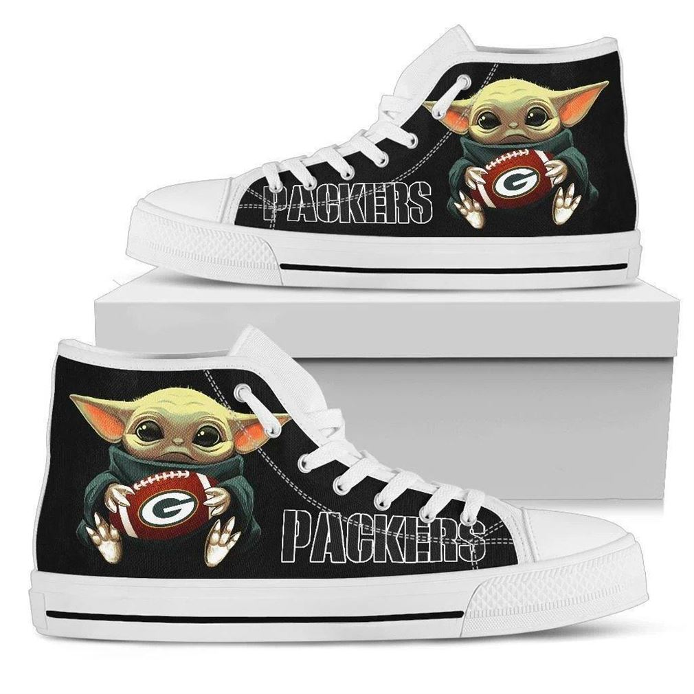 Packers High Top Vans Shoes
