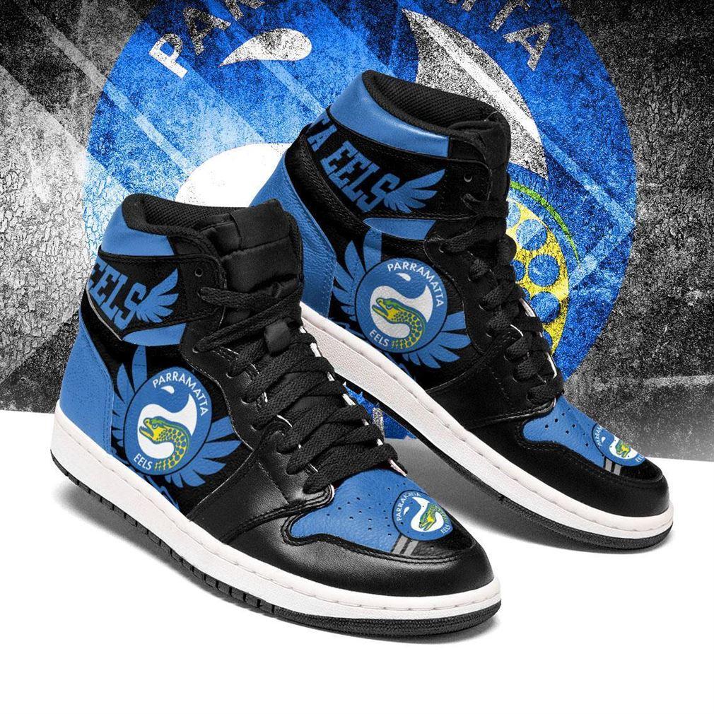 Parramatta Eels Nrl Air Jordan Sneaker Boots Shoes