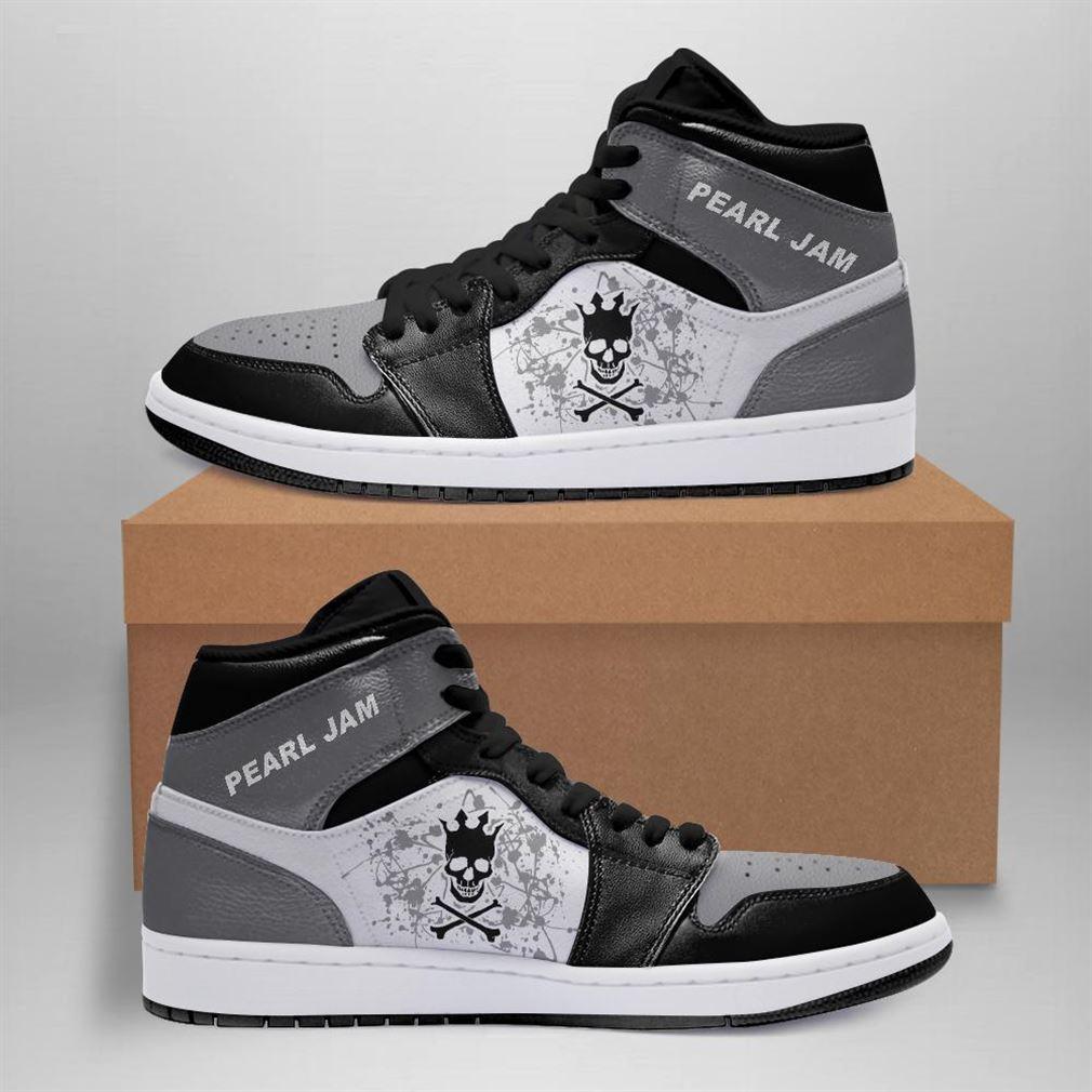 Pearl Jam Rock Band Air Jordan Sneaker Boots Shoes