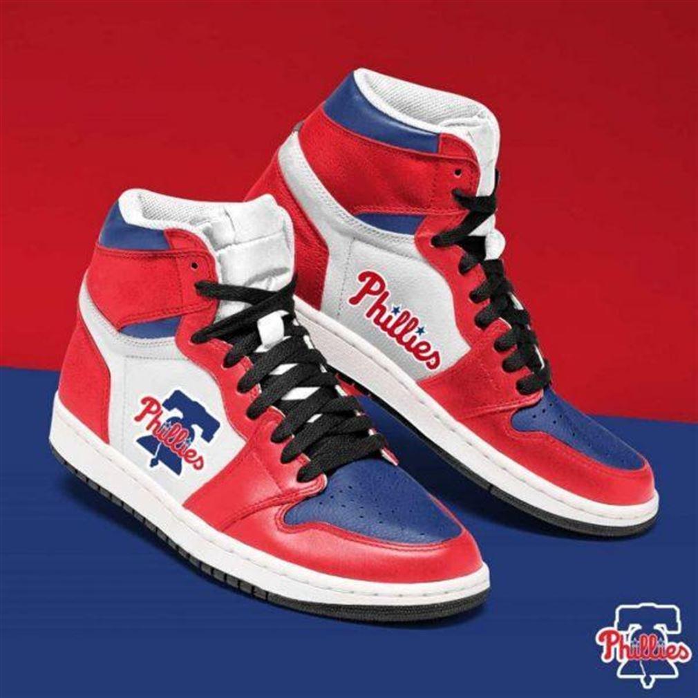 Philadelphia Phillies Mlb Baseball Air Jordan Sneaker Boots Shoes