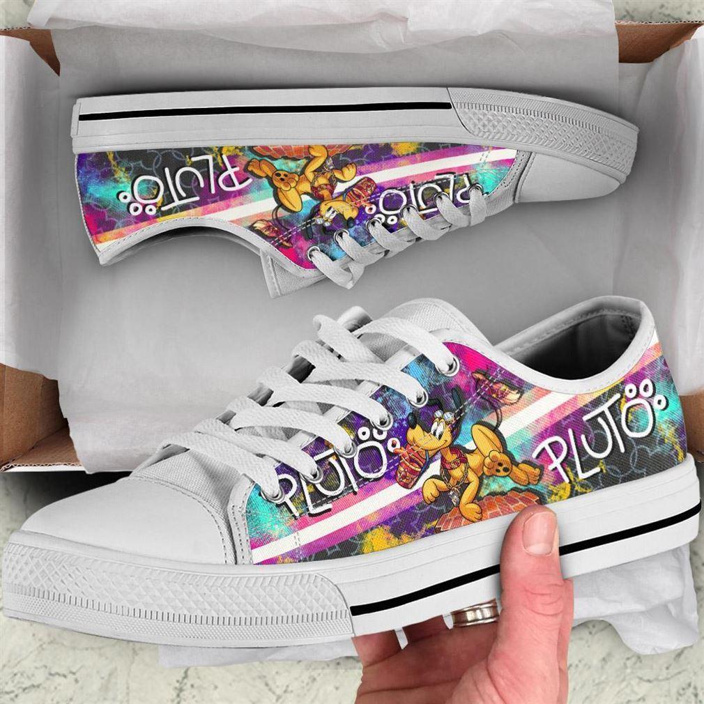 Pluto Low Top Vans Shoes