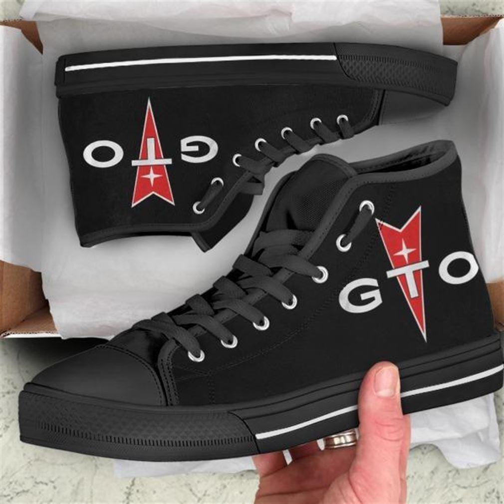 Pontiac Gto High Top Vans Shoes