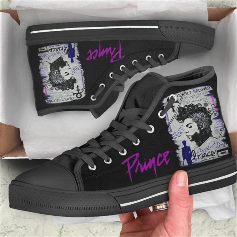 Prince High Top Vans Shoes