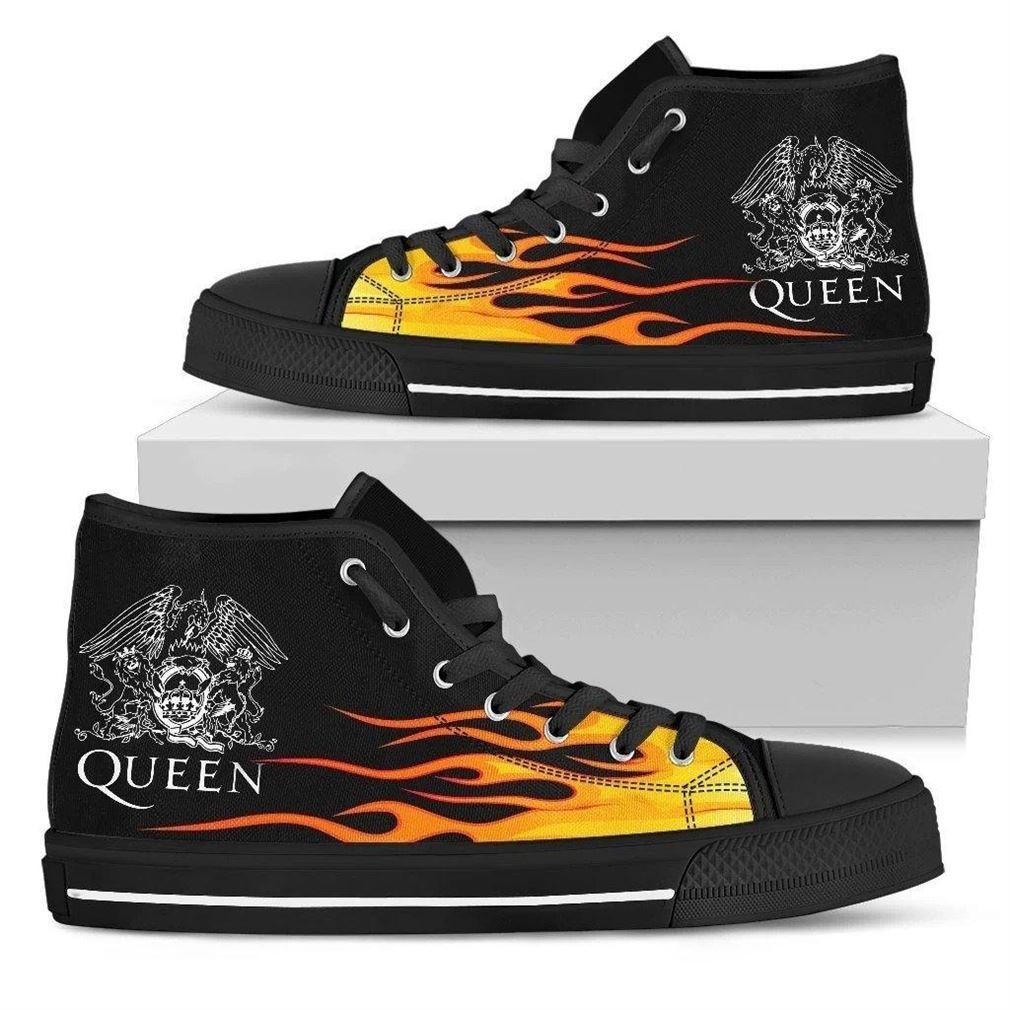 Queen Band High Top Vans Shoes