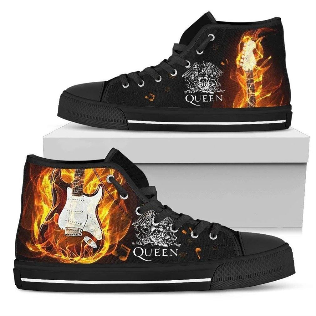 Queen High Top Vans Shoes