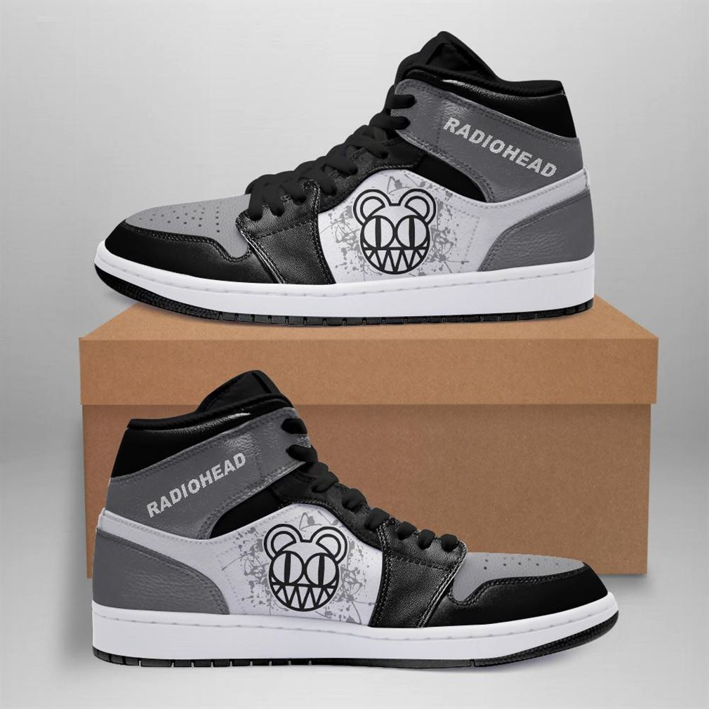 Radiohead Rock Band Air Jordan Sneaker Boots Shoes
