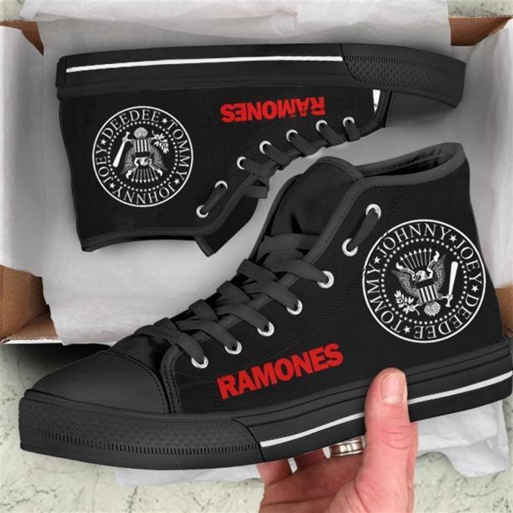 Ramones High Top Vans Shoes