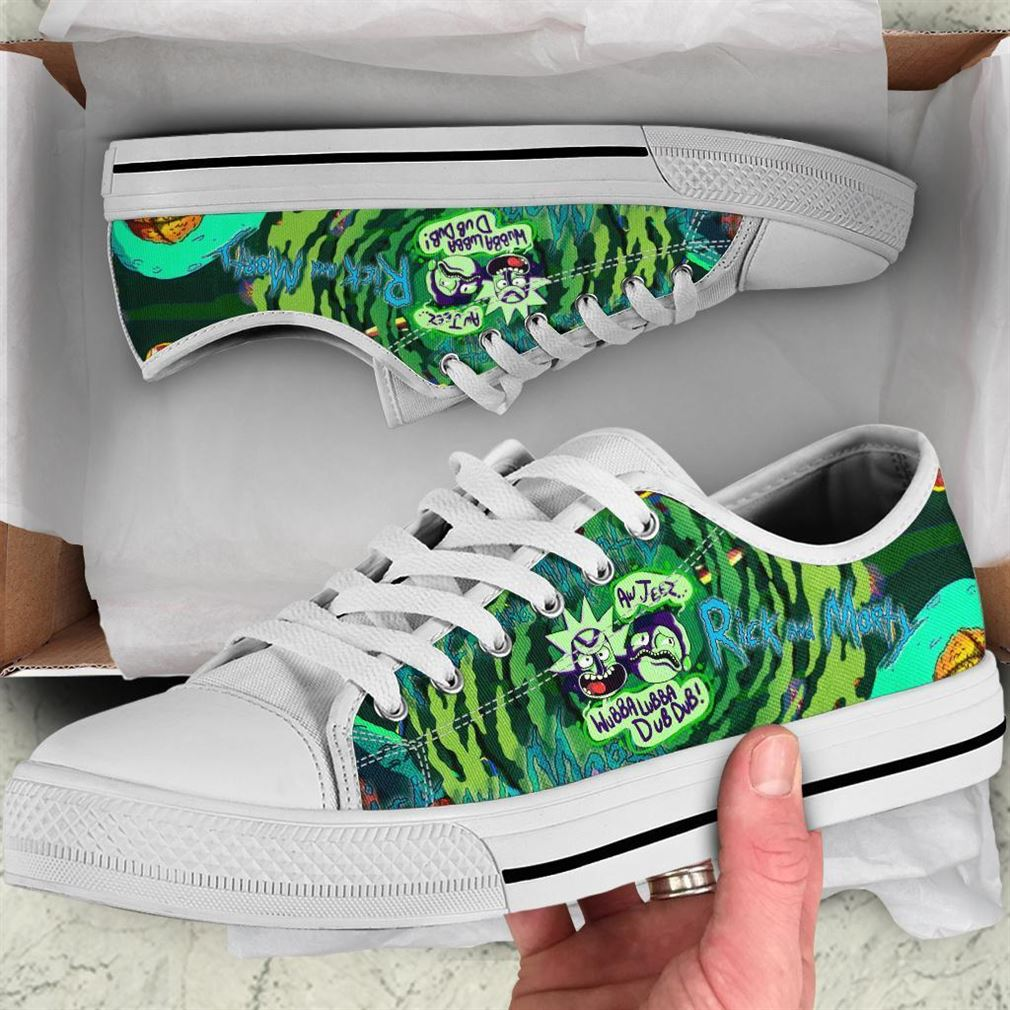 Rick And Morty Low Top Vans Shoes