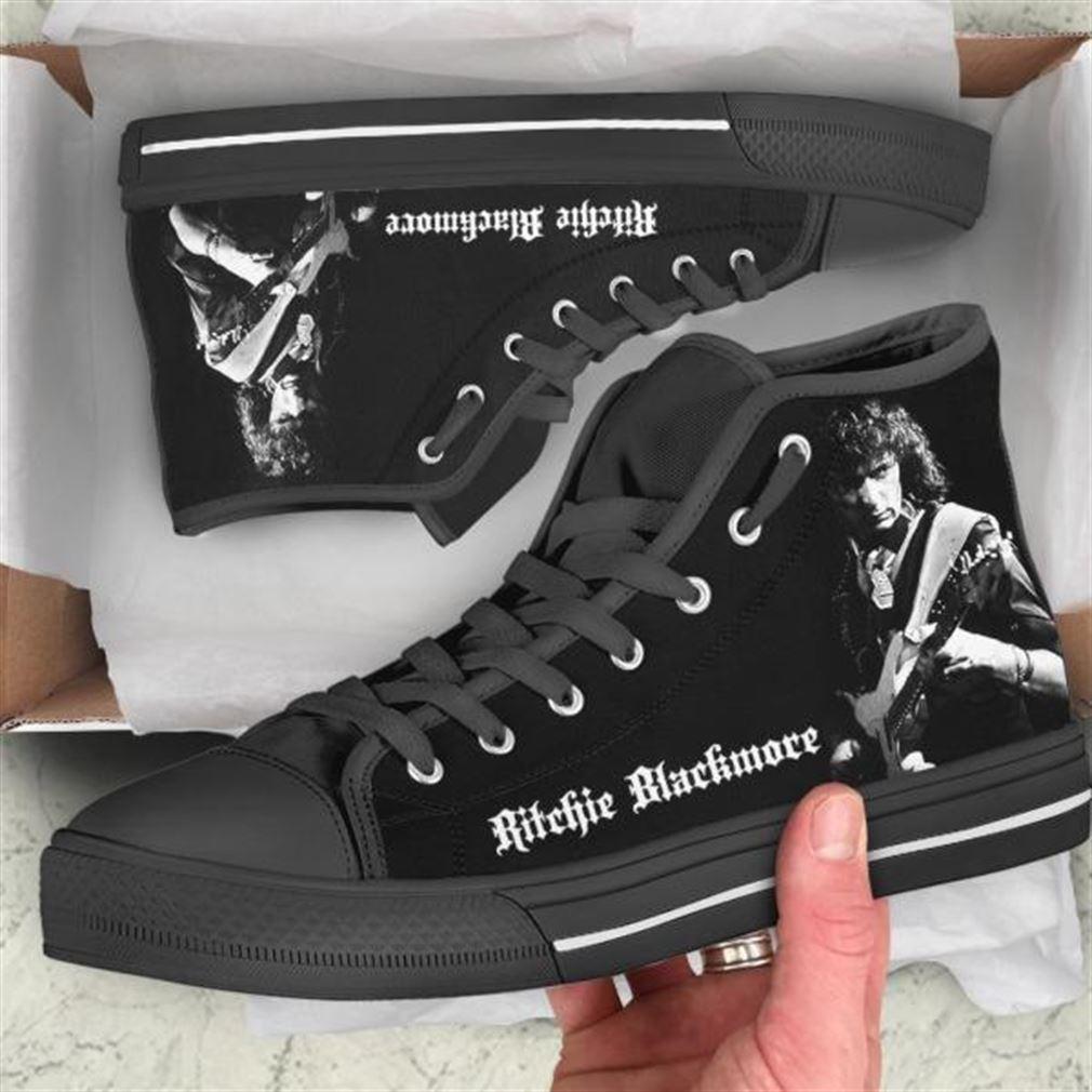 Ritchie Blackmore High Top Vans Shoes