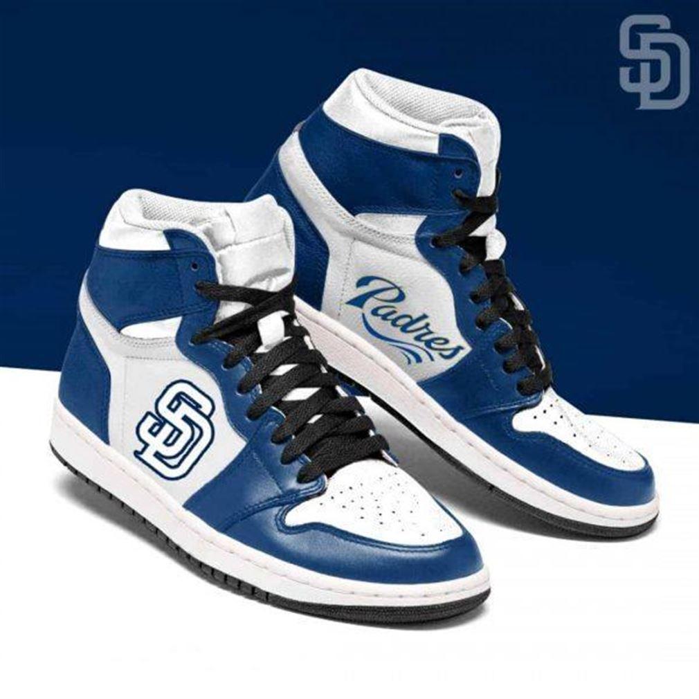 San Diego Padres Mlb Baseball Air Jordan Sneaker Boots Shoes