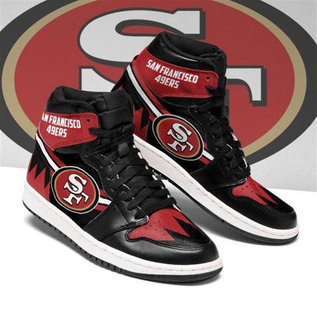 San Francisco 49ers Nfl Football Air Jordan Sneaker Boots Shoes