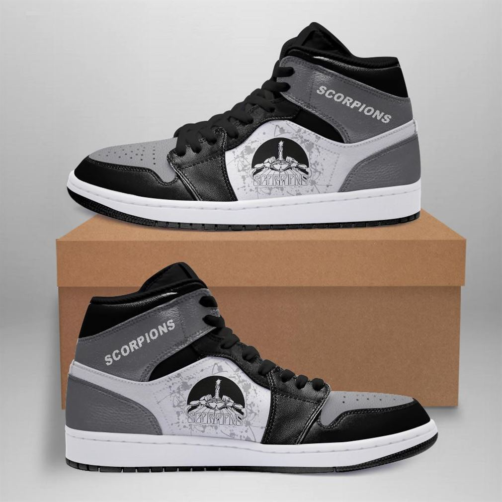 Scorpions Rock Band Air Jordan Sneaker Boots Shoes